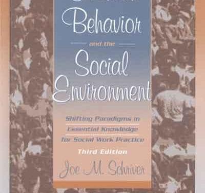 Human Behavior and the Social Environment, Third Edition