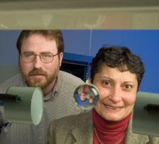 professors Fred Barlow and Magda El-Shenawee