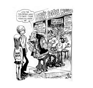 George Fisher cartoon