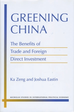 Book cover of Greening China