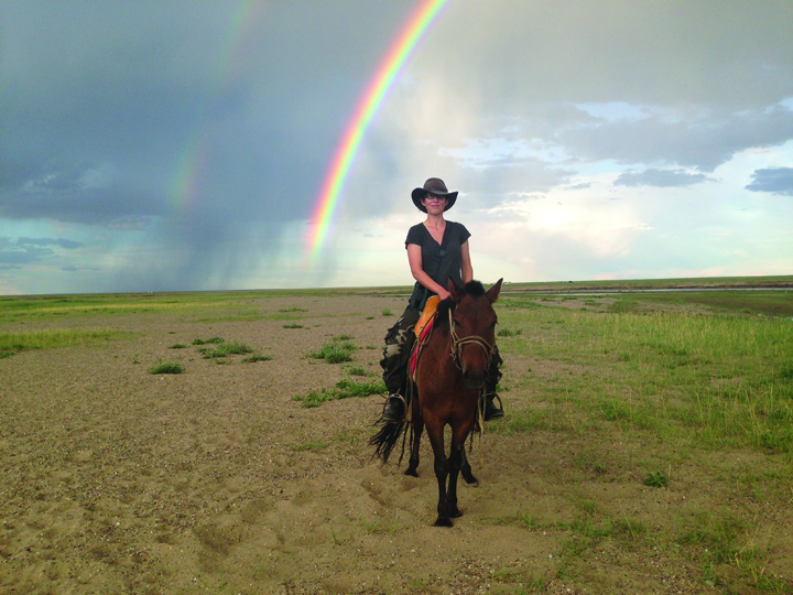 Marla Steele rides the Mongolian plain in search of Pallas's fish eagles