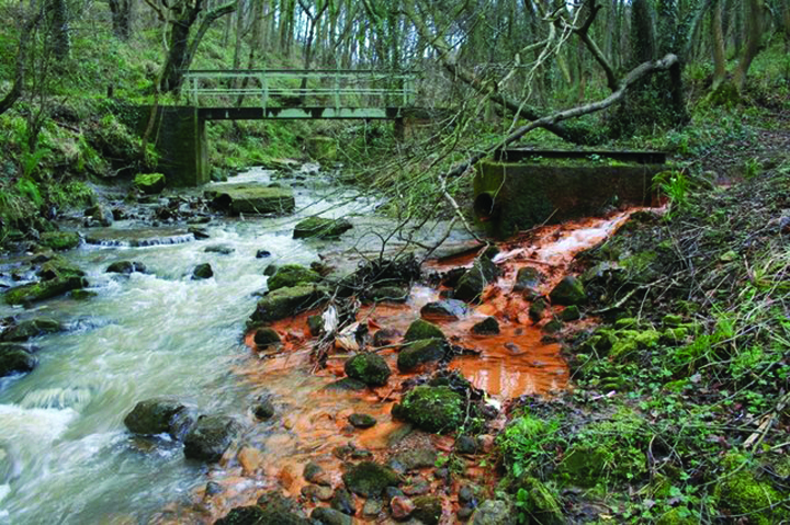 Proactive environmental planning would prevent dumping of untreated pollutants in streams, a small step that has a small positive effect on corporate bottom line. | Photo by: Mick Garratt