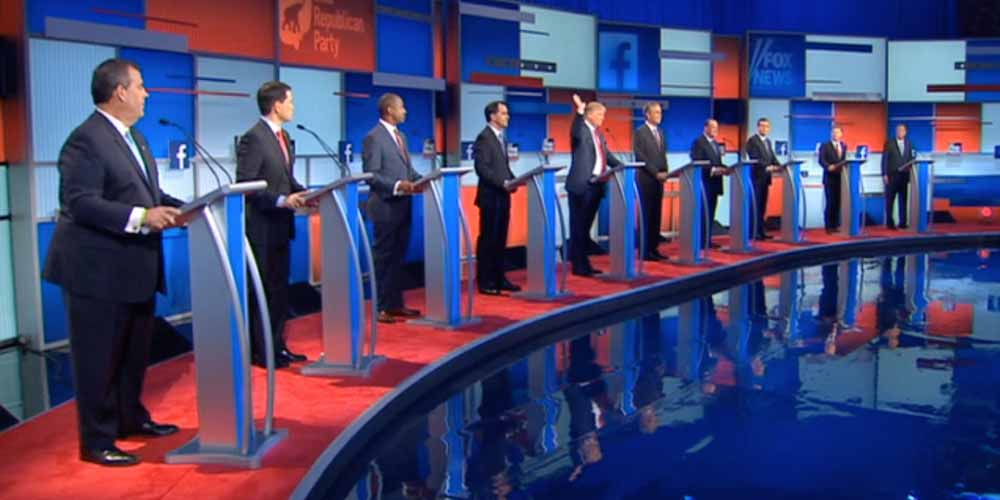 New Analysis: Speaking Time and Camera Shots in the August 6 Republican Presidential Primary Debate