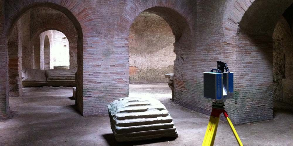 Rebuilding Ancient Structures with Time Scanners