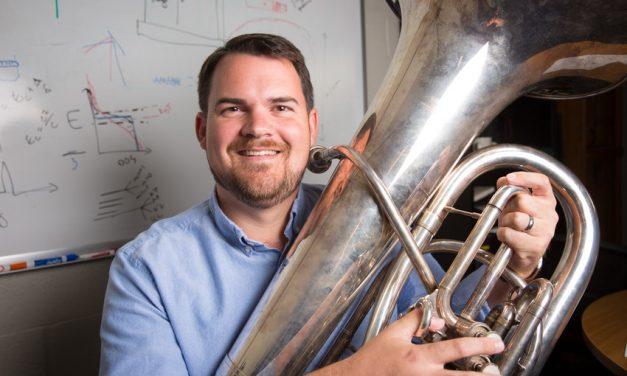 OUTSIDE THE LAB: Atomic Tuba