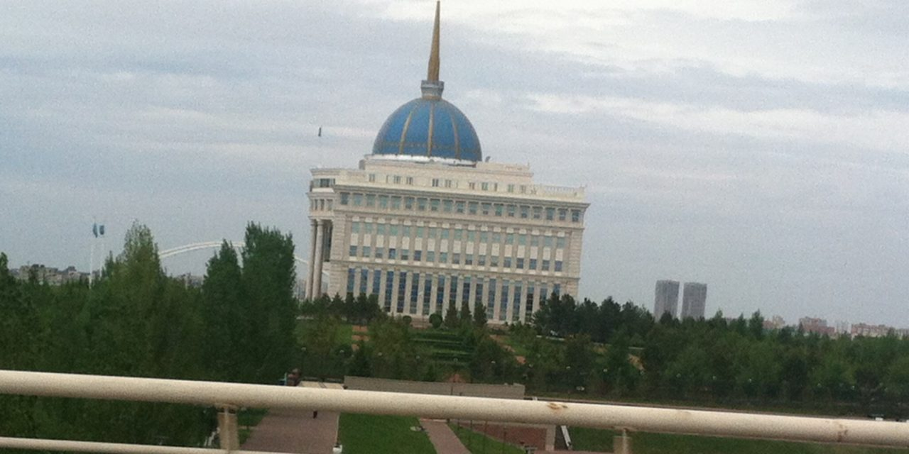 English Instructor Teaches Language Course in Kazakhstan