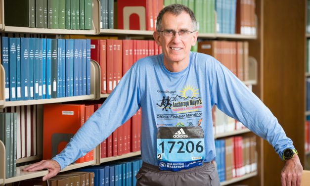 OUTSIDE THE LAB: Marathon Man