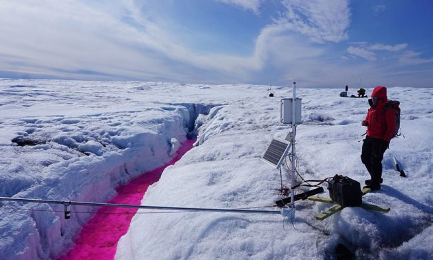 A Cold Summer in Greenland Studying How Ice Moves