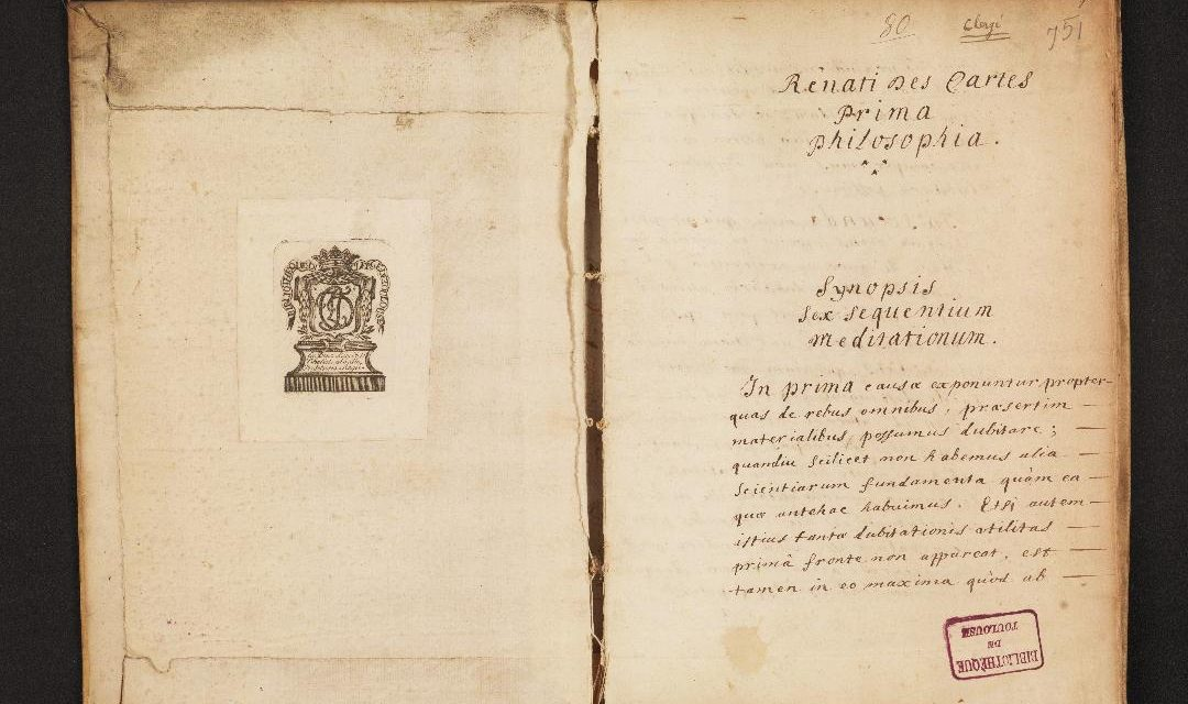 Newly Discovered Draft of Descartes' Meditations Sheds New Light on the Philosopher's Thoughts and Writing Process
