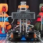 The New Factory: Building a 'Swarm' of Mobile, Autonomous Robots