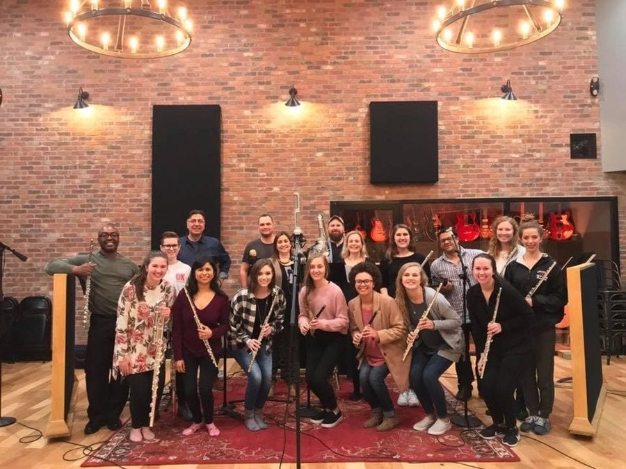 Department of Music Completes Haxton Road Studios Recording Project
