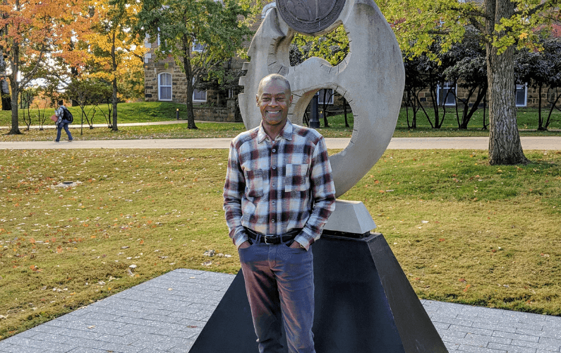 A Q&A with Fulbright College Scholarships' Carl Riley