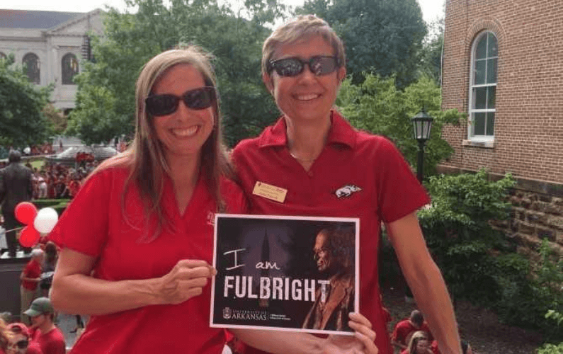 Spotlight On: Erica Estes, Creating Career Connections at Fulbright College
