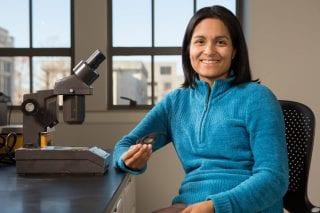 Celina Suarez, associate professor of geosciences