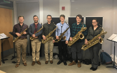 A Q&A with Six Student Musician Saxophonists and Their Instructor