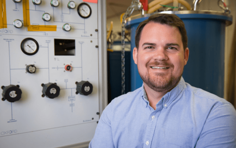 Physicist Hugh Churchill Receives Presidential Early Career Award