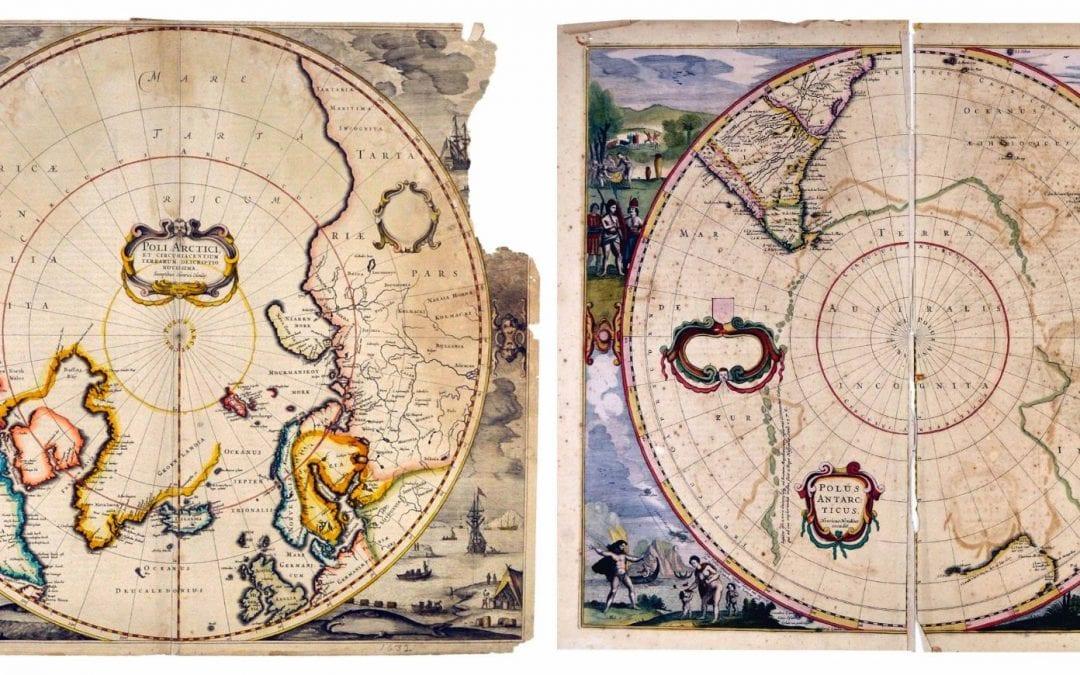 Geosciences Professor Discovers Rare Original Maps