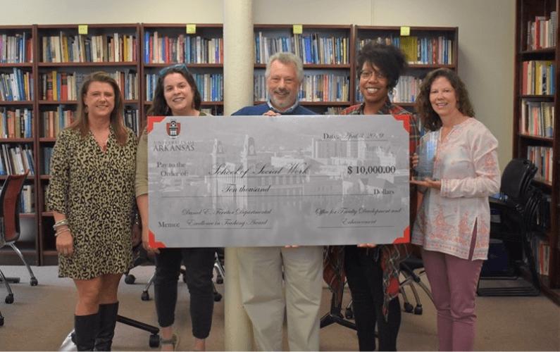 School of Social Work Receives Departmental Teaching Award