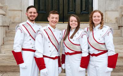Razorback Marching Band Announces 2019-2020 Drum Majors