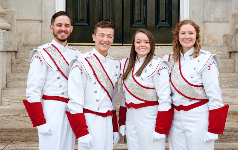 Razorback Marching Band Announces 2019-2020 Drum Majors
