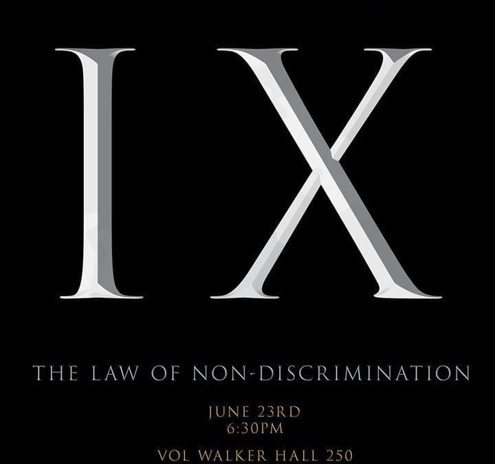 Journalism Alumnus Screens Title IX Documentary on Campus June 23