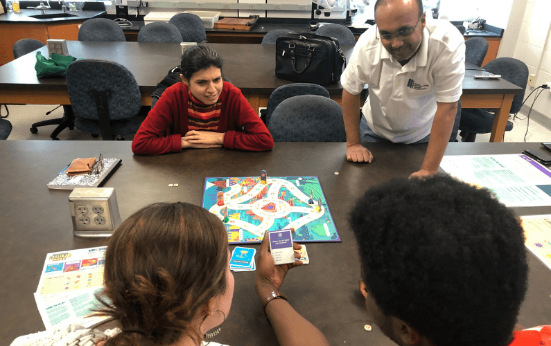 Interdisciplinary Faculty and Student Team Creates Science-Based Strategy Game