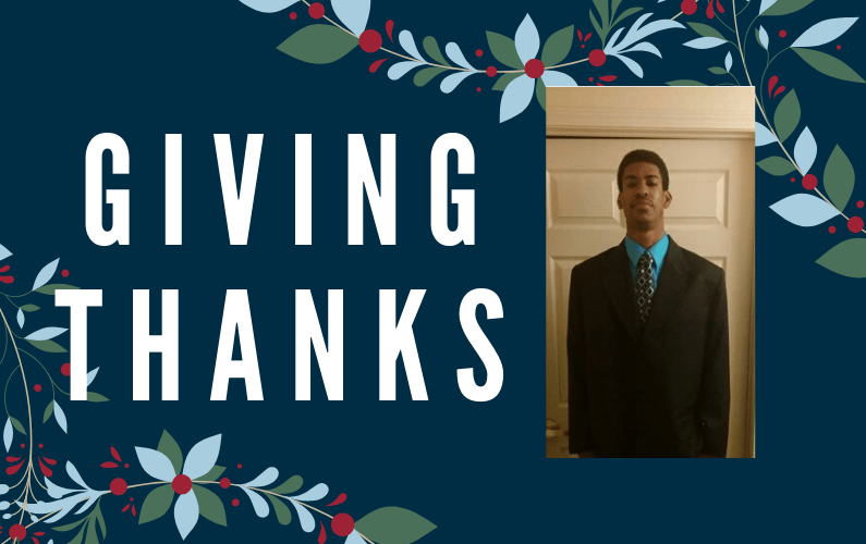 Giving Thanks: Scholarship Helps Doctoral Student Who Wants to Make a Difference Through Mathematics Education