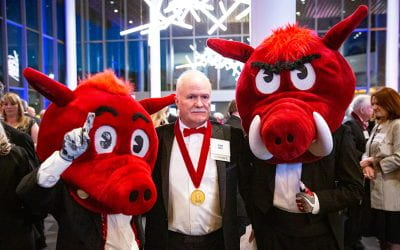 Tom Hill Shows His Love for Music by Creating Razorback Band Scholarships