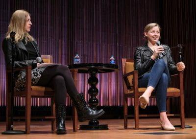 Jenn and Chessy speaking