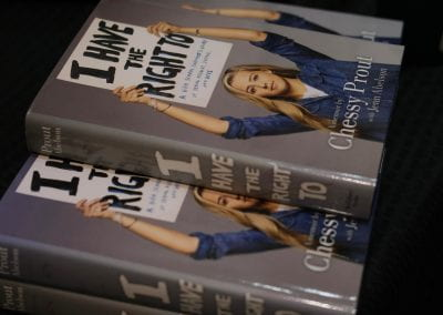 'I Have The Right To' book