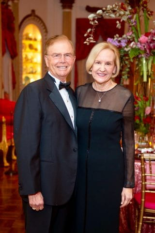Sue Walk Burnett and partner