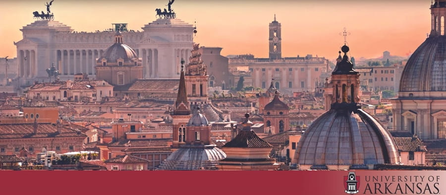 Rome Center Partnering With Fulbright College to Deliver Summer Courses