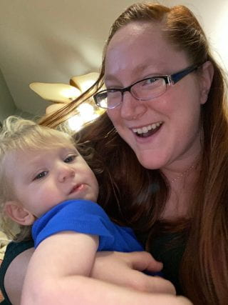 Katherine and child
