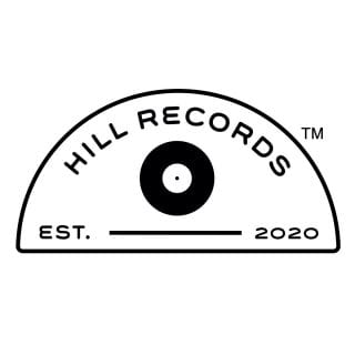 The logo for the University of Arkansas' new student-run record label, Hill Records, created by student Kenzie Klinkhamer.