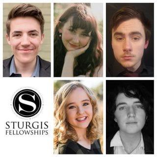 Top row from left: Sebastian Boysen, Sarah Long and Brenton Perry; bottom row: Josie Zakrzewski, Benjamin Pierce.