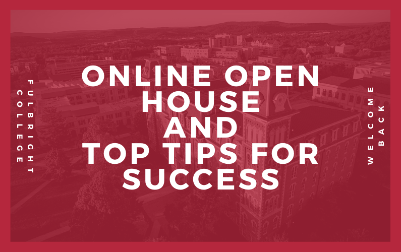 Explore Our Online Open House and Top Tips for Student Success