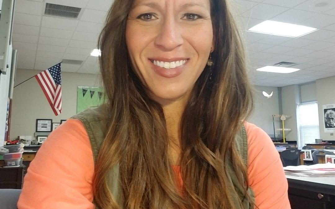 Alumna named 'National Teacher of the Year' by Physics Teacher Education Coalition