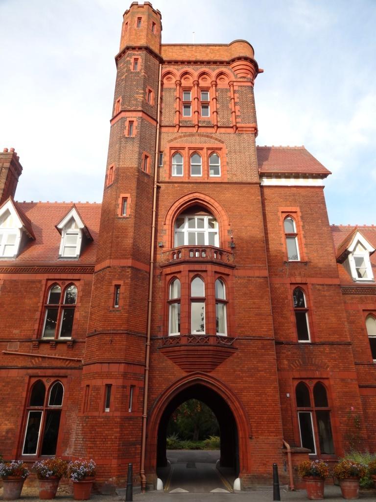 Entrance to Girton College