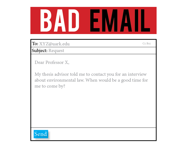 Bad Email
