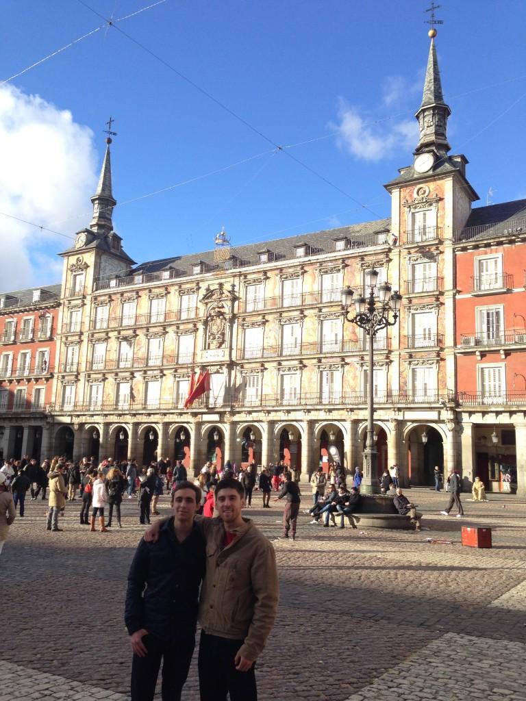 Plaza Mayor con Sebastian