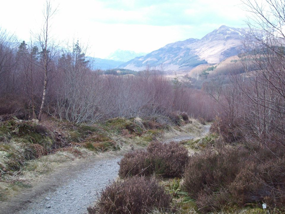 Along the West Highland Way