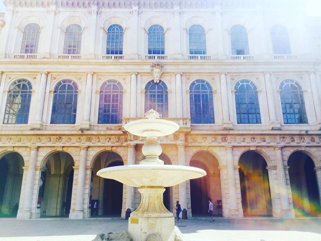 The Palazzo Barberini.