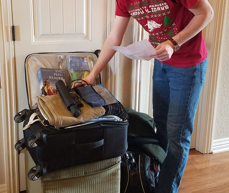 Setting Out: A Pre-Departure Reflection