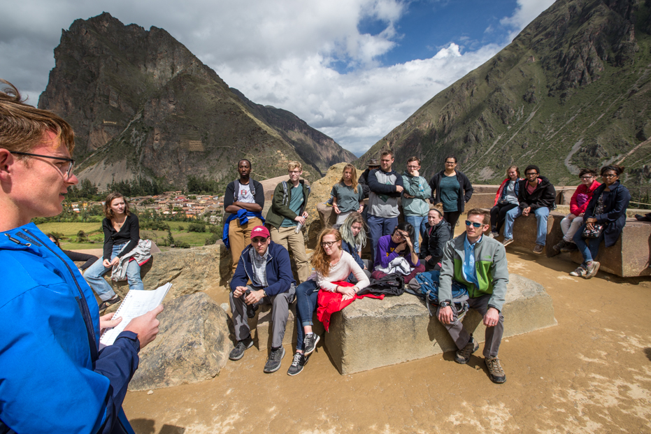 Presenting Abroad: Coursework Behind the Vacation