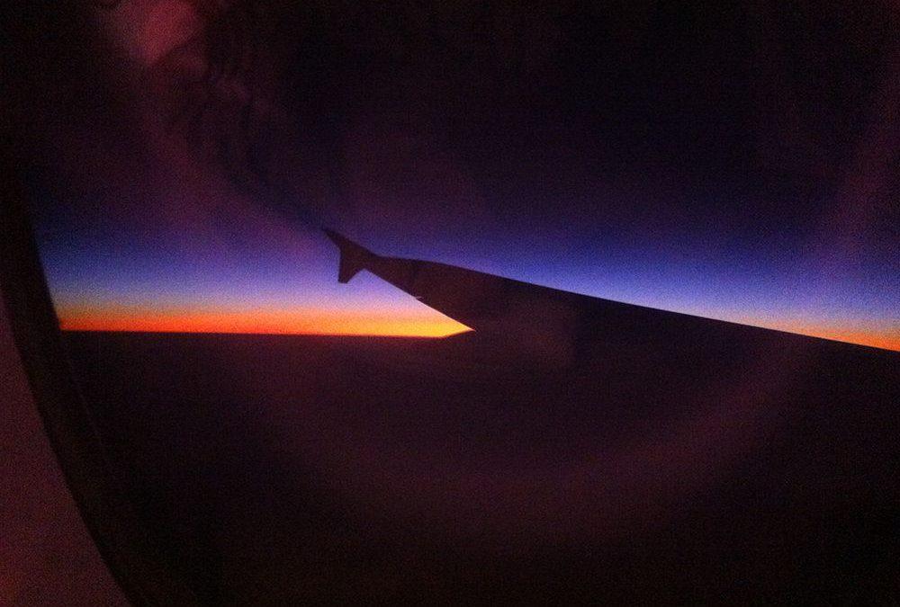 Window Seat on a Night Flight