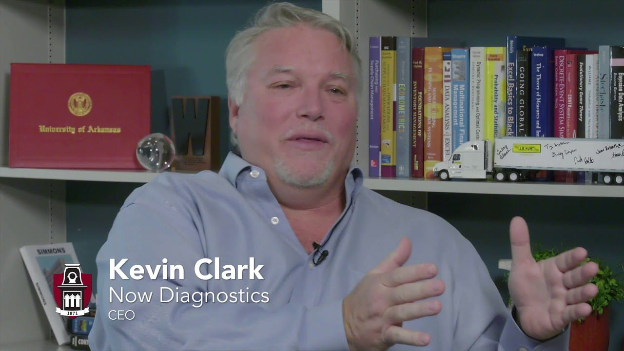 Kevin Clark: Now Diagnostics