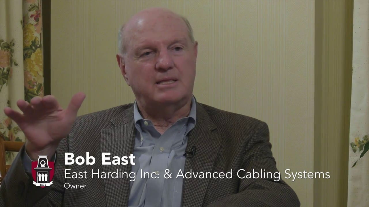 Bob East: East Harding and Advanced Cabling Systems