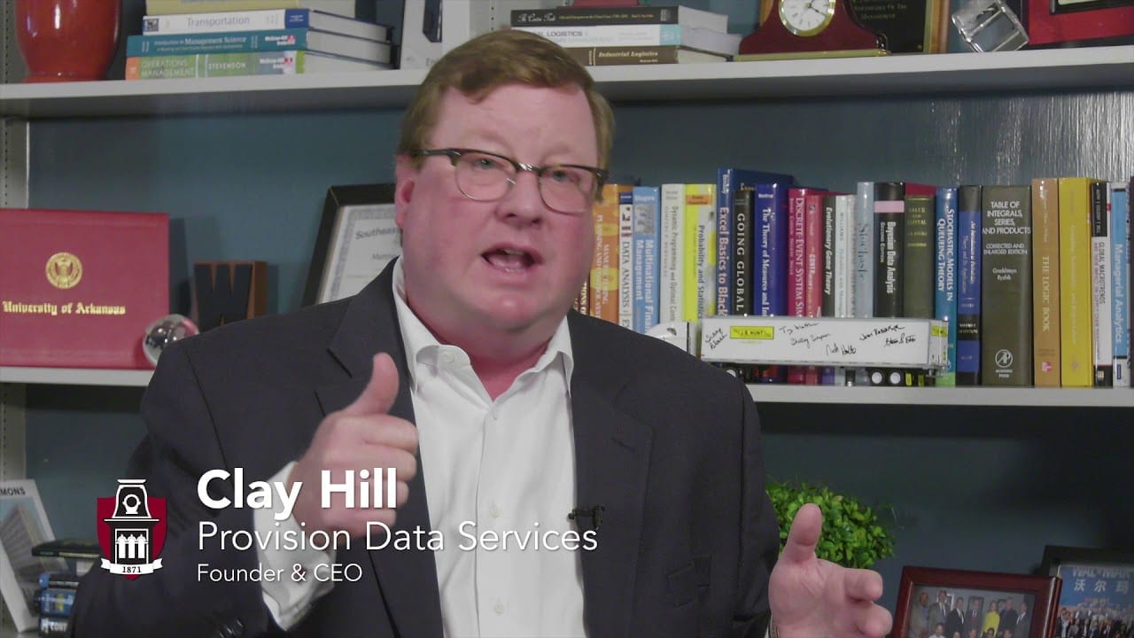 Clay Hill: Provision Data Services