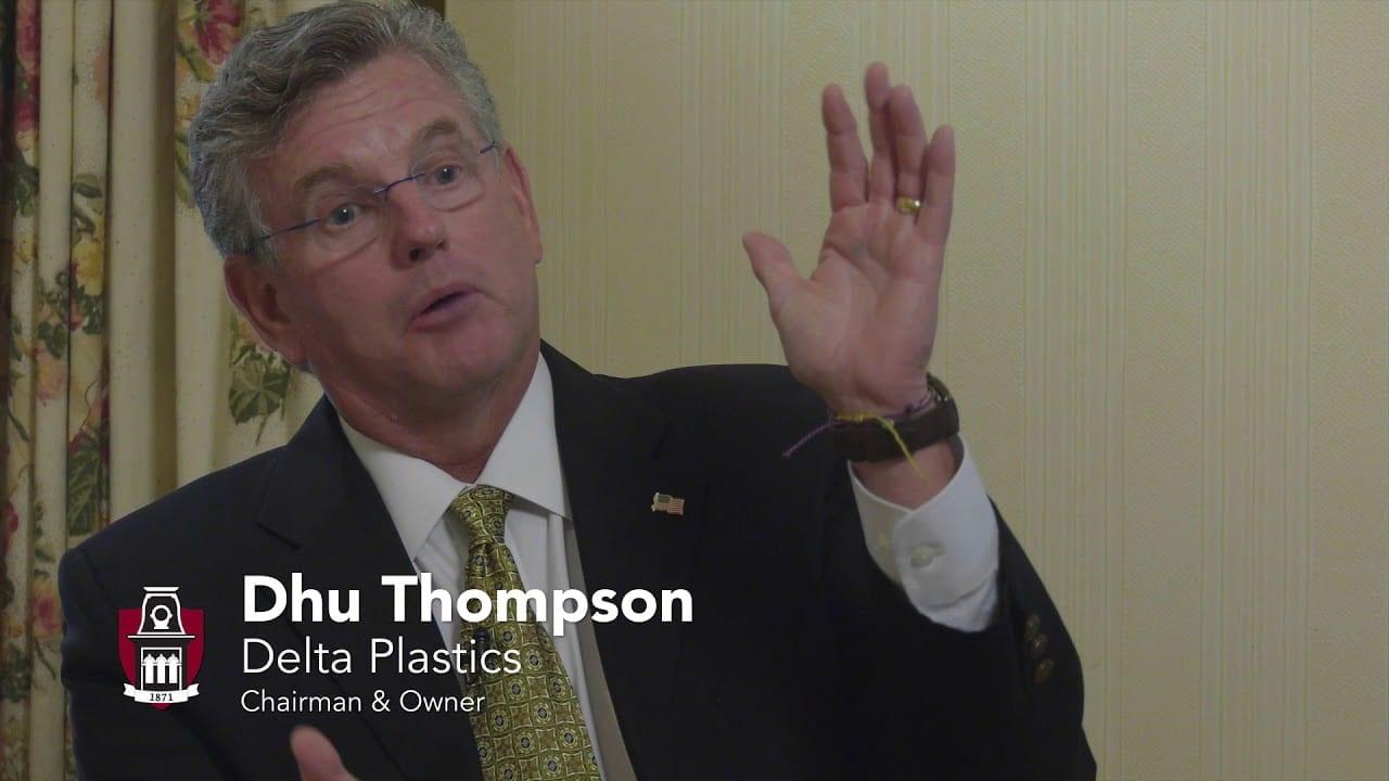 Dhu Thompson: Delta Plastics