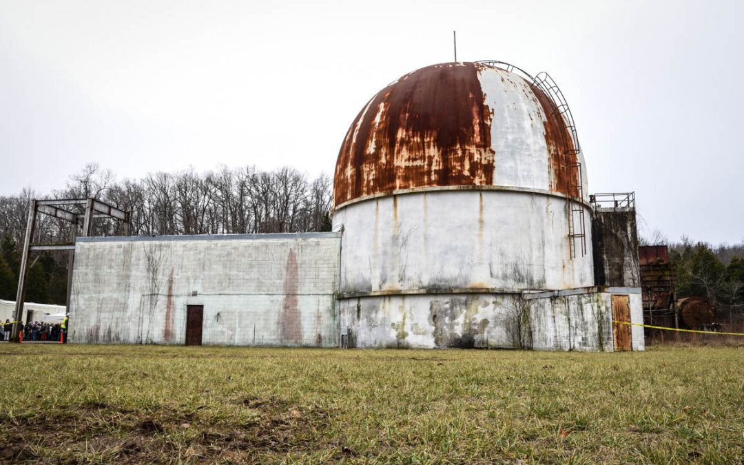 SEFOR: inside a decommissioned nuclear test reactor